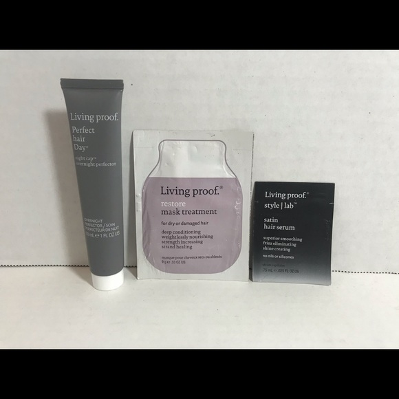 Other - Living Proof 2 masks, and Satin Hair Serum